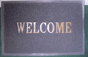 Anti-Slip PVC Coil Door Mat with Foam Backing pictures & photos