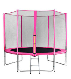 6FT Children Pink Round Trampoline, Courtyard Trampline with Safaty Net, pictures & photos