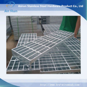 Sheet Metal Stainless Steel Grating with Serrated End Bar pictures & photos