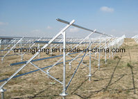 High Quality Ground Solar Panel Mounting Bracket with Min 65micro Zinc Thickness pictures & photos
