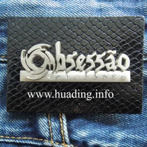 Customized Leather Patch for Clothing (PA-04) pictures & photos