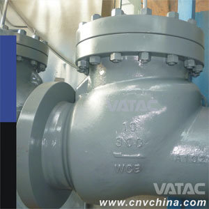 Vatac API6d Flanged Carbon Steel A216 Wcb Swing Check Valve pictures & photos