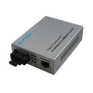 10/100m Single Mode Media Converter 60km (NF-C550S60)