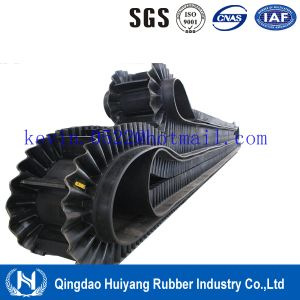 Metallurgy Industry Sidewall Cleated Rubber Covneyor Belting pictures & photos