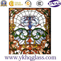 Digital Printing Painted Patterned Tempered Laminated Building Window Glass Door pictures & photos
