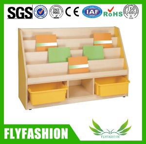 Modern Kids Bookshelf Made of MDF with Melamine (SF-102C) pictures & photos