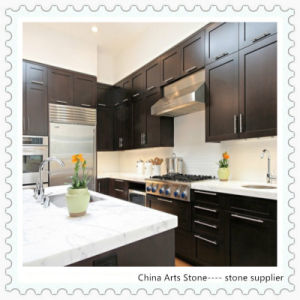 White Marble Kitchen Countertop for USA Home pictures & photos