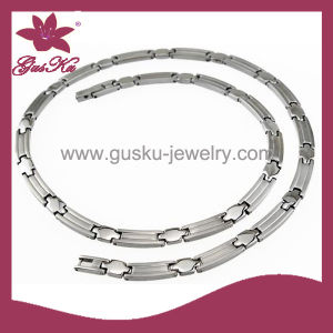 Fashion Jewelry Health Care Stainless Steel Necklace (2015 Stn-014) pictures & photos