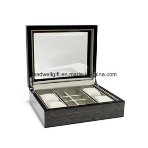 Brown Wood Watch & Accessory Box pictures & photos