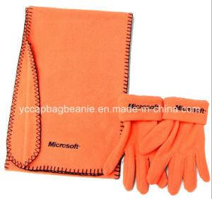 Warm Winter Fleece Hat/Glove/Scarf Set pictures & photos
