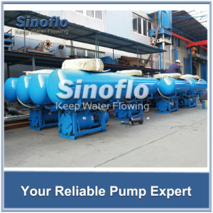 Flood Control Floating Submersible Axial Flow Pond Dewatering Pump pictures & photos