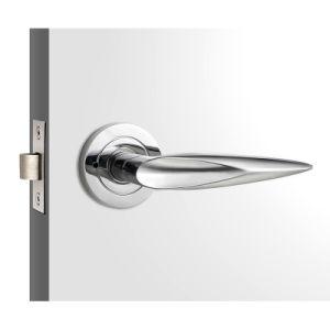 Zinc Alloy Bathroom Lever Door Lock pictures & photos