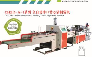 Automatic Punching T-Shirt Bag Making Machine (Manufacturer) pictures & photos