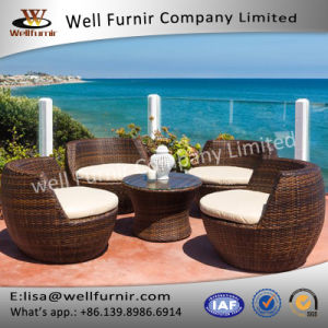 Well Furnir Rattan 5 Piece Deep Seating Group with Cushion WF-17005 pictures & photos