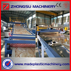 PVC Rigid Marble Sheet Making Machine pictures & photos