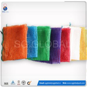 Packaging 30kg Onion Potato Raschel Mesh Bag pictures & photos