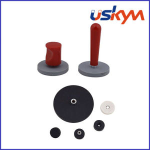 Rubber Coated Magnet NdFeB Pot Magnet pictures & photos