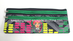 Insulated Full Colors Printing Neoprene Pencil Bag