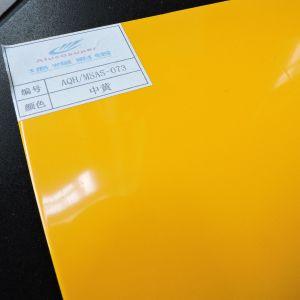 Glossy Medium Yellow PE Coated Aluminum Composite Panel Aluco ACP pictures & photos