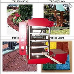 Rubber Tile Making Machinery pictures & photos