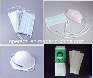 Soft and Comfortable Disposable Nonwoven Face Mask pictures & photos