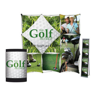 Factory Wholesale Portable Easy-Assembly Modular Green Exhibitiontrade Show Booth Advertising Equipment Booth Promotion Pop up Store Display Stand pictures & photos