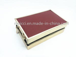 PU Zipper Clutch Bag, Chain Evening Bag. pictures & photos