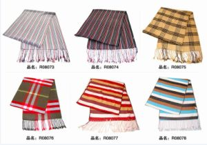 New Design Fashion Viscose Scarf (08073-08078) pictures & photos
