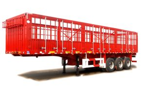 Low Price 60t Stake / Fence Truck Trailer for Personal Use Transportation pictures & photos