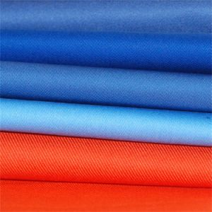 Cotton Twill Fabric with Anti Winkle and Ironing Free pictures & photos