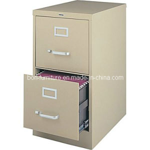 Cheap Office Furniture/ Vertical File Cabinet/2drawer Metal Filing Cabinet pictures & photos