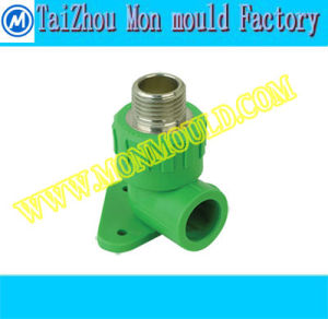 PPR Male and Female Elbow with Brass Fitting Mold pictures & photos