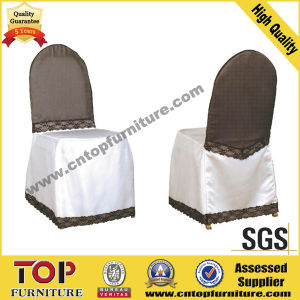 100% Polyester Wedding Chair Cover pictures & photos