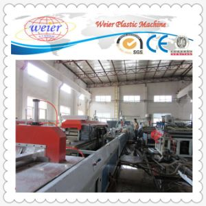 New Design Plastic PVC Profile Extrusion Line pictures & photos