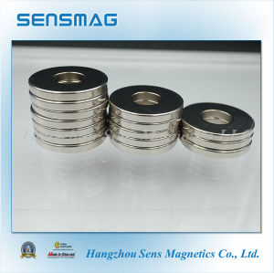 Manufacture N48m Neodymium Permanent NdFeB Ring Magnet Alternator pictures & photos