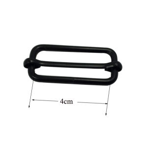 Metal Bag Buckle Adjustable Belt Buckle Slide Buckle (inner size: 4cm) pictures & photos