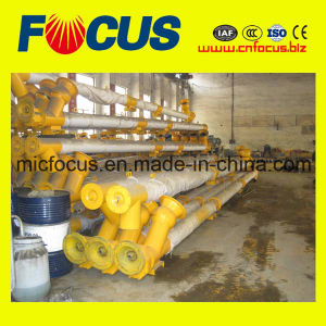 High Output Cement Powder Screw Conveyor/Cement Inclined Spiral Screw Feeder Conveyor pictures & photos