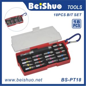 18PCS Screwdriver Bit Set with Wrench Handle pictures & photos