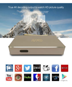Android Smart TV Box Q1 with Rk3128 Quad-Core 1GB/8GB WiFi 4k pictures & photos