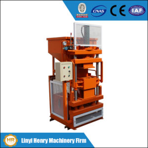 Brick Machinery Hr1-10 Soil Interlocking Brick Making Machine pictures & photos