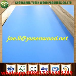 Poplar Core 18mm Melamine Faced Plywood, Melamine Paper Faced Plywood pictures & photos