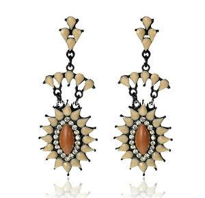 Trendy Bohemia Style Resin Stone Earring (XER13095) pictures & photos