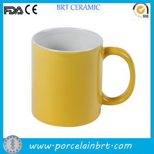 11oz High Quality Porcelain Outside Color Mug pictures & photos