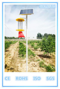 Solar Pest Control Lamp, Insect Killer Lamp, Green Agriculture, Chinese Manufacturer pictures & photos