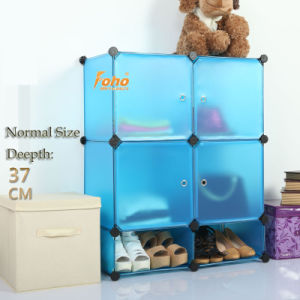 Blue Plastic DIY Storage Cbinet with Many Colors Available (FH-AL0518-4) pictures & photos