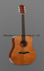 "41"" Korean Pine Custom Handmade Acoustic Guitar (GT-910) pictures & photos"