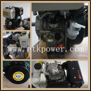 14HP Air-Cooled Diesel Engine (Marine Manual Pulley accepeted) pictures & photos
