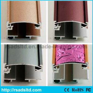Aluminium Extrued Profile Section for Slim Light Box pictures & photos