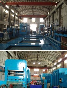 PLC Steel Cord Rubber Conveyor Belt Vulcanizing Press Production Line pictures & photos