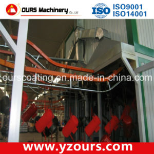 Manual Powder Painting Line; Semi Automatic Spraying Line pictures & photos